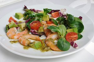 Salad of watercress salad