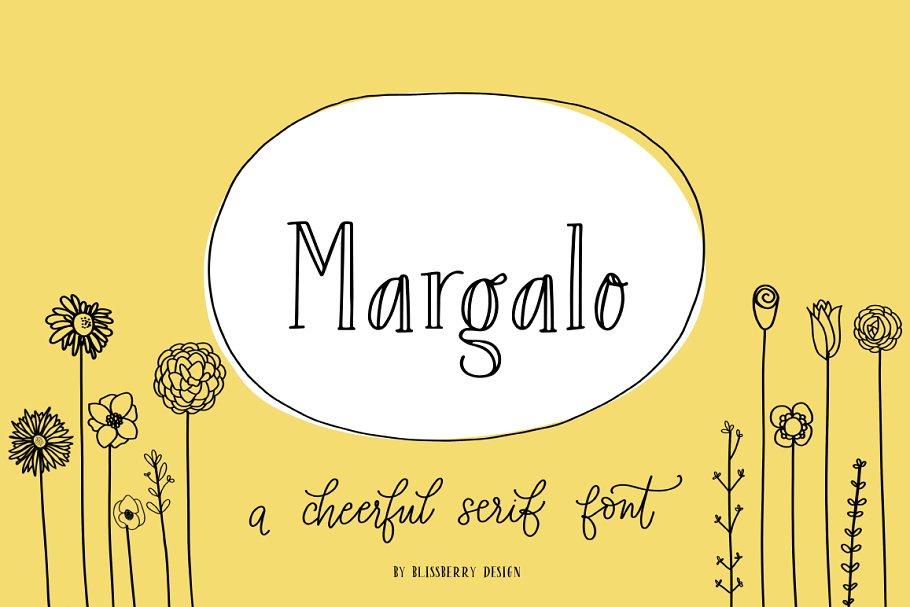 Margalo Font + Extras