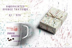 Sponge Texture Vector Kit
