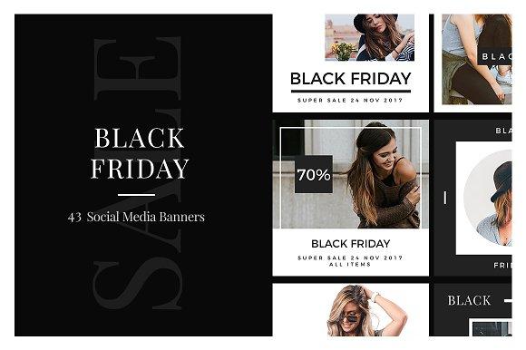 Black Friday Social Media Banners