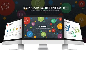 Iconic Keynote Template