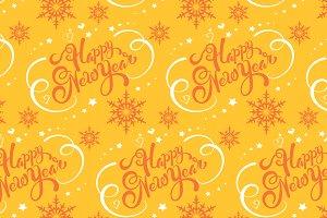 Christmas wrap yellow