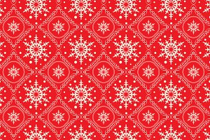 Christmas wrap red