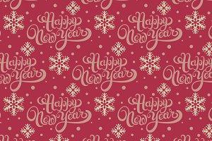 Christmas wrap vintage style