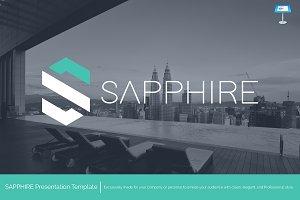 Sapphire - Keynote Template