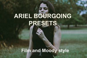 Ariel Bourgoing Presets Film & Moody