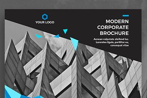 Modern Corporate Brochure Landscape