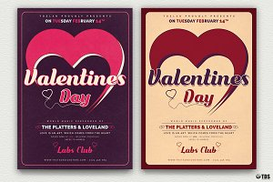 Valentines Day Flyer Template V9