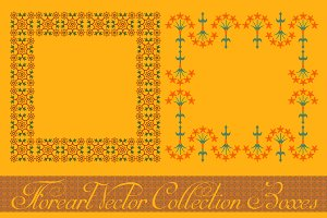 Floreart Vector Collection Boxes