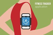 Sports or fitness tracking app