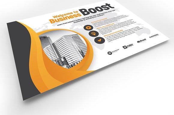 Marketing Seminar Flyer Template v2 ~ Flyer Templates ~ Creative Market