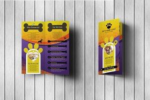 Pets Care Bi-Fold Brochure