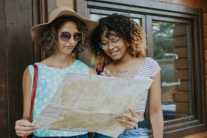 friends youth travel map