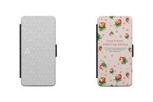 Sony Xperia XA 2d wallet Case Mockup