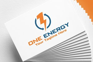 One Energy | Logo Template