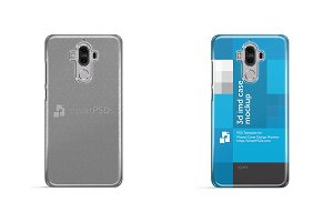 Huawei Mate 9 3d IMD Case Mockup