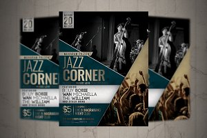 Jazz Music Event Flyer / Poster