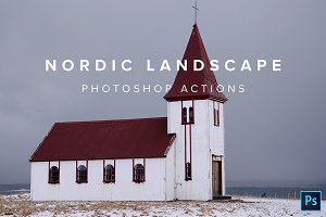 Nordic Landscape Photoshop Actions