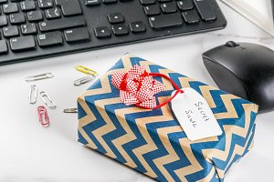 Office Christmas, secret Santa