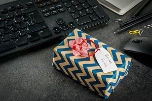 Office Christmas, secret Santa
