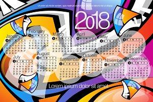 2018 Calendar1