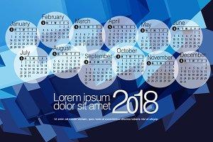 2018 Calendar2
