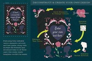 Gothic Romance Halloween Template