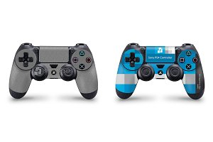 Sony PS4 Controller Skin Mock-up