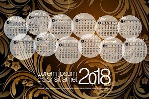 2018 Calendar3