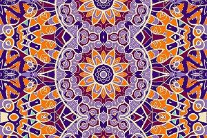 Ornamental wallpaper stylized