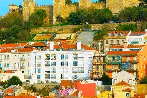 View of Lisbon Castle