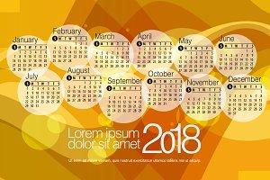 2018 Calendar4