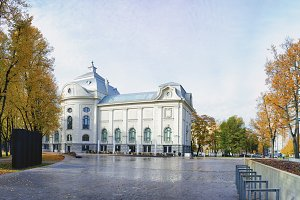 Museum in the city park of Riga