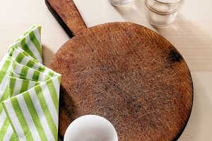 empty cutting board