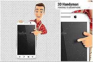 3D Handyman Smartphone