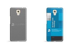 Gionee M6 3d IMD Mobile Case Mockup