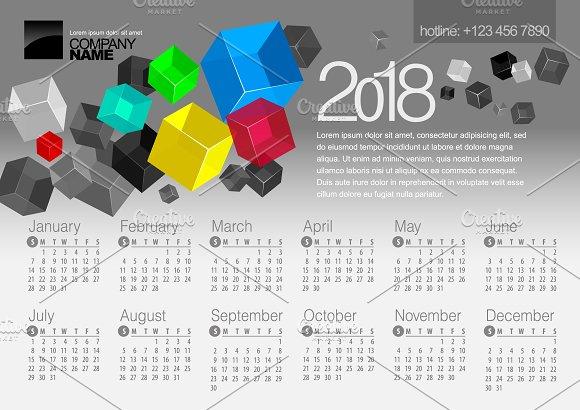 2018 Calendar6