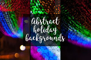 Abstract holiday backgrounds