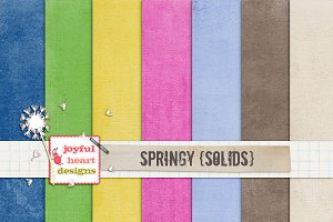 Springy {solids} - 20% off! :)