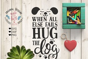 Hug the Dog Cutting File