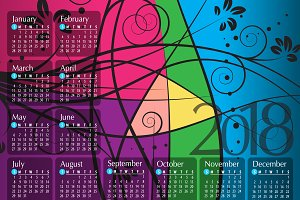 2018 Calendar8