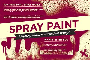 Spray paint pack