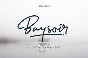 Baysoir Duo Handwritten