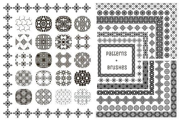 20 Patterns 14 Pattern Brushes