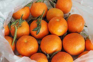 tangerine fruit food