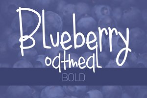 Blueberry Oatmeal Bold