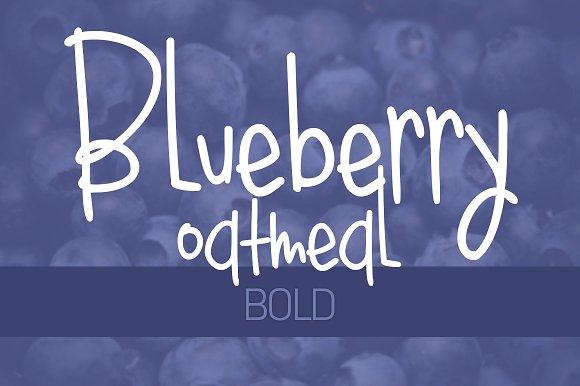 Blueberry Oatmeal Bold