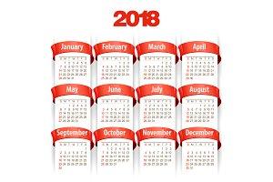 2018 Calendar11