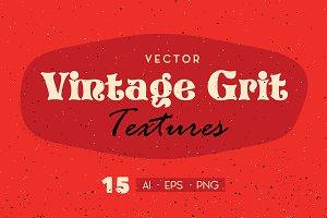 15 Vintage Grit Textures