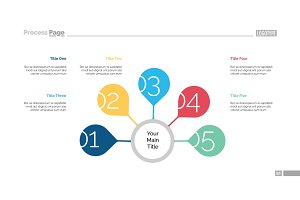 Five Steps Strategy Slide Template
